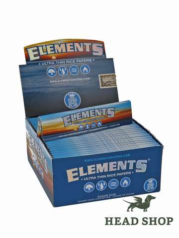 Elements King Size Slim - 50 x