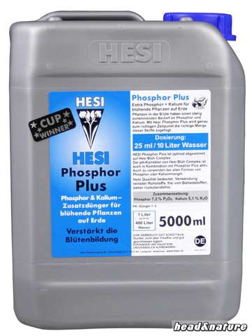 Hesi Phosphor Plus, 5 Liter