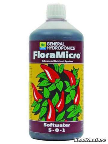 GHE - FloraMicro Soft-Water 1 Liter