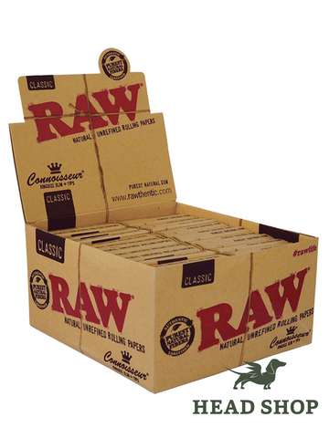 RAW Papers King Size Slim mit Filtertips - 24 x