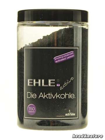 EHLE Aktivkohle powered by Actitube - 150g