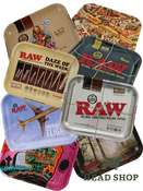 Raw Rolling Tray - diverse Designs